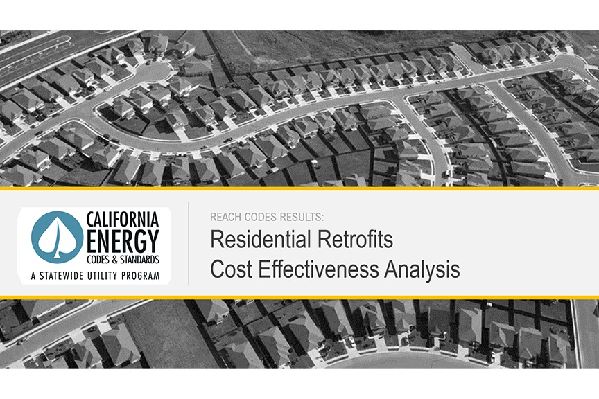 Residential Retrofit Cost Effectiveness Analysis